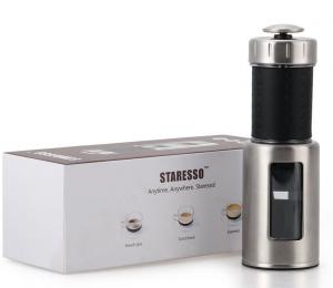 STARESSO 手動コーヒーメーカー エスプレッソメーカー Cappuccinoメーカー 携帯型コーヒーメーカー SP-100